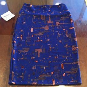 S LuLaRoe Cassie Skirt B06 19